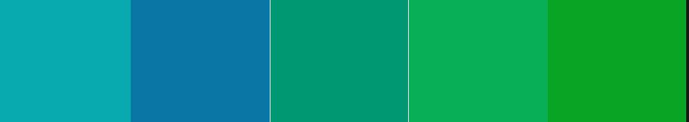 Emerald Palette Analogous Rule