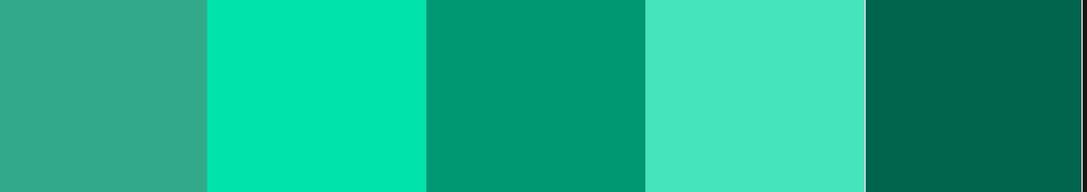 Kuler Emerald Palette Mono