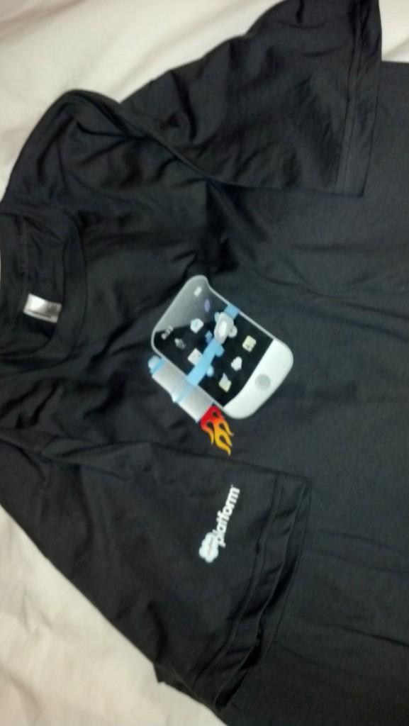 Official Salesforce Mobile Developer Week T-shirt