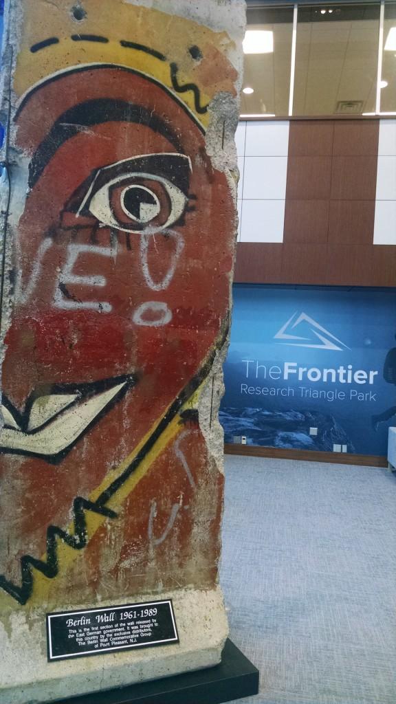 Berlin Wall at RTP
