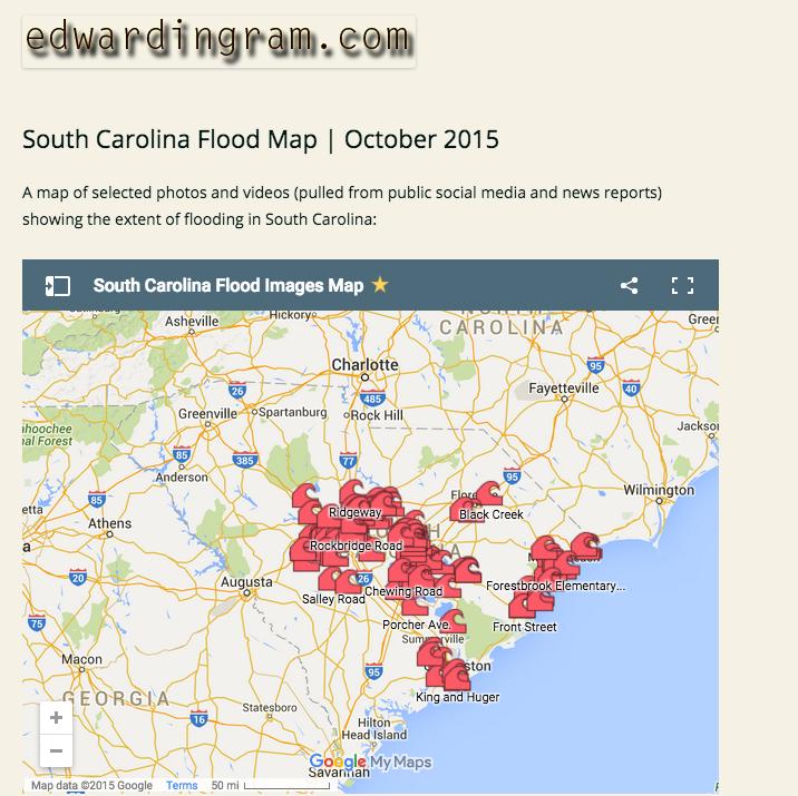 SC Flood Map