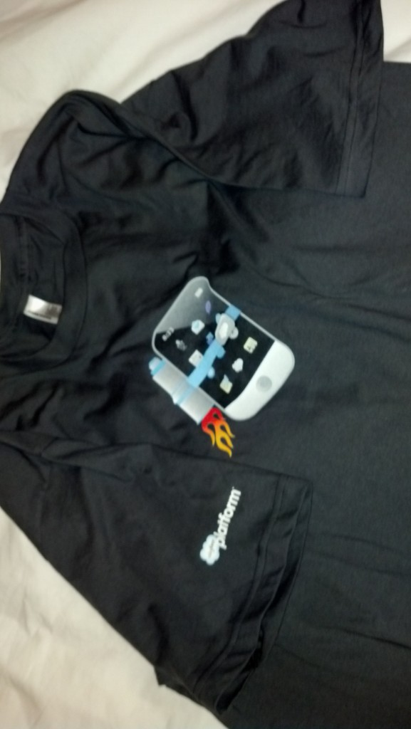 Official Salesforce Mobile Developer Week T-shirt