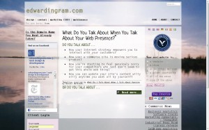 edwardingram.com (version 2)