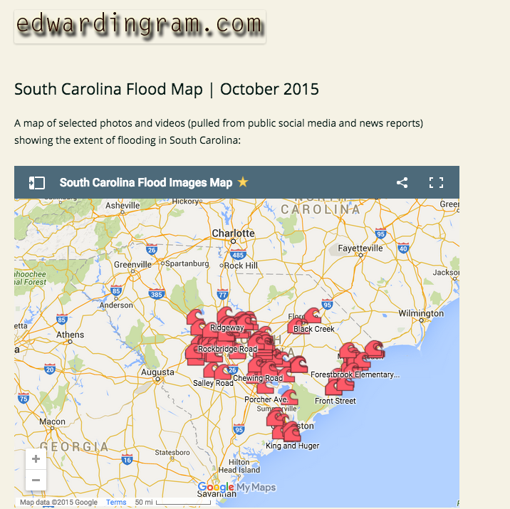 SC Flood Map