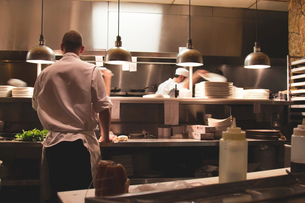 Photo: Chefs at Work by Michael Browning on Unsplash